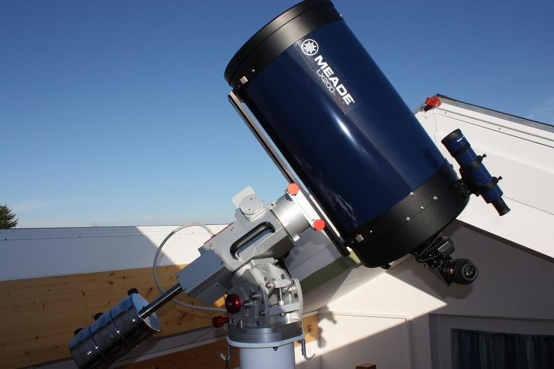 Teleskope zur astronomischen beobachtung